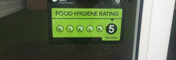Hygiene rating 5*
