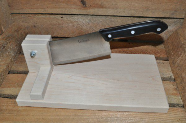 Wooden Biltong Cutter
