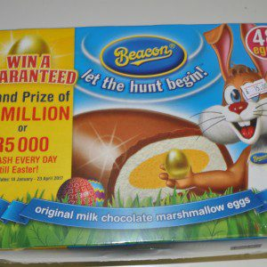 Beacon marshmallow eggs box 48