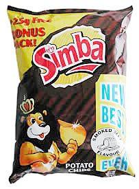 Simba Smoked Beef Crisps
