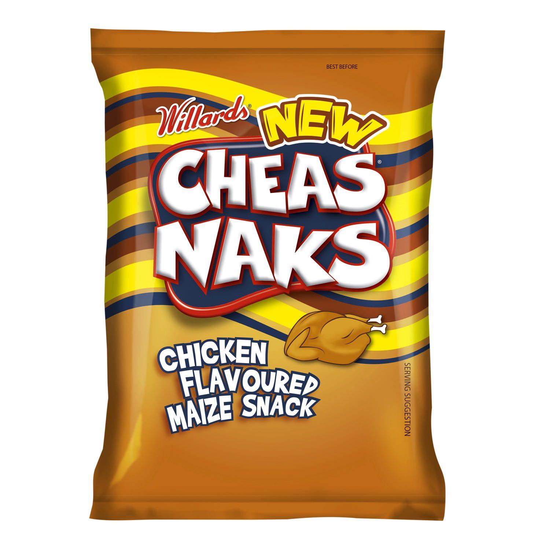 Willards Cheas Naks Chicken Flavour 150g