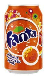 Fanta Orange single