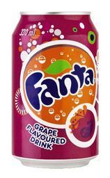 Fanta grape single
