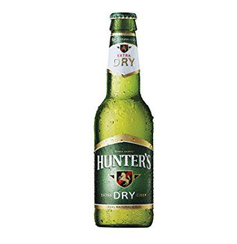 Hunters Dry Real Cider 330ml Bottle