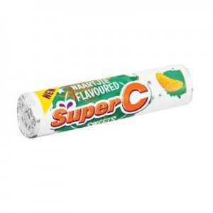 Super C Naartjie Flavoured Sweet Roll