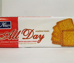 Henro all day biscuits 200g